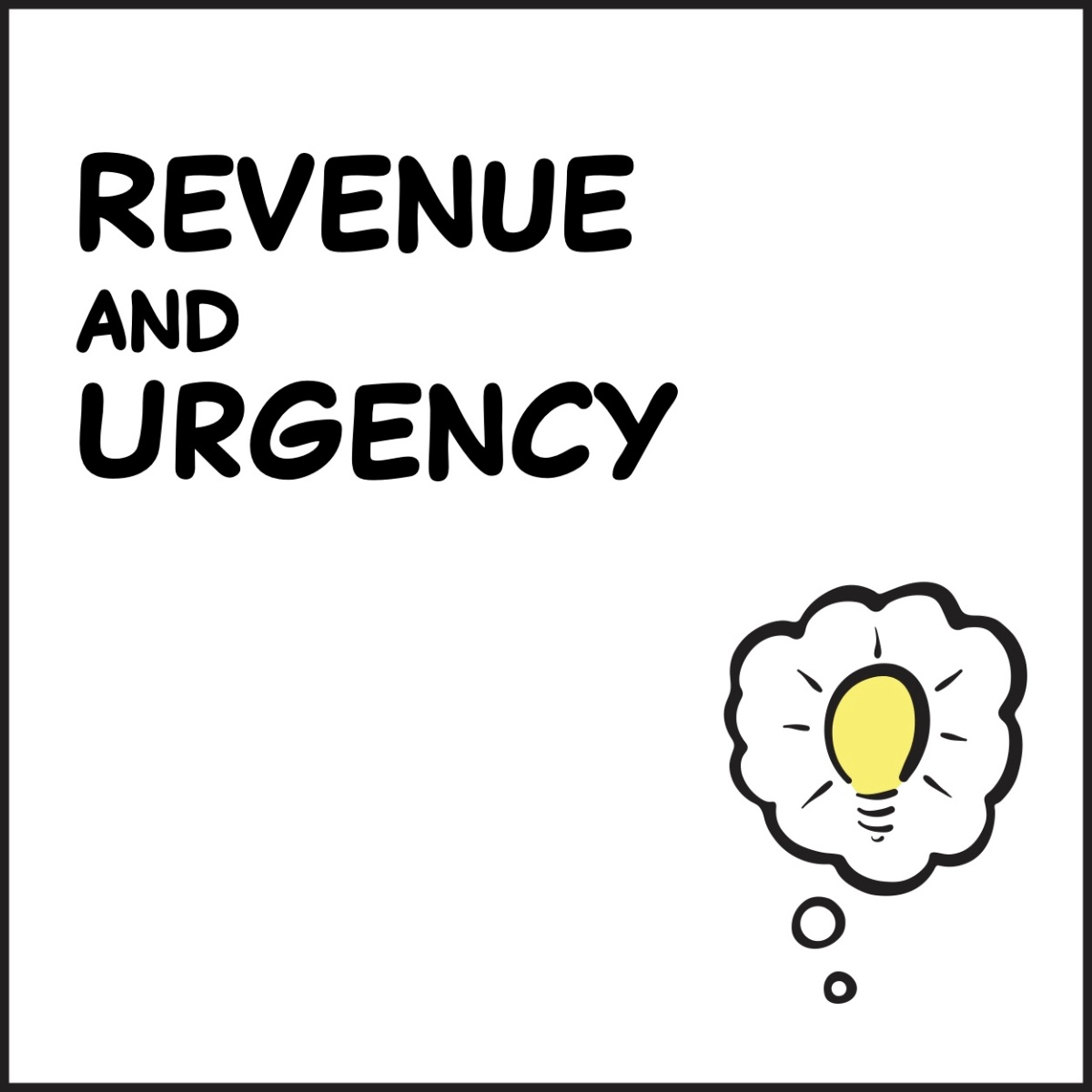 Revenue and Urgency